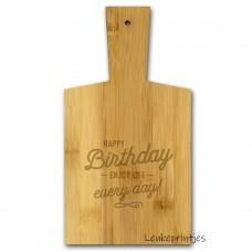 Borrelplank Birthday