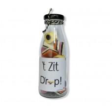 Fles label engelse drop