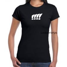 T-Shirt uitroepteken