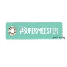 Sleutelhanger vilt #Supermeerster