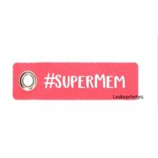 Sleutelhanger #Supermem